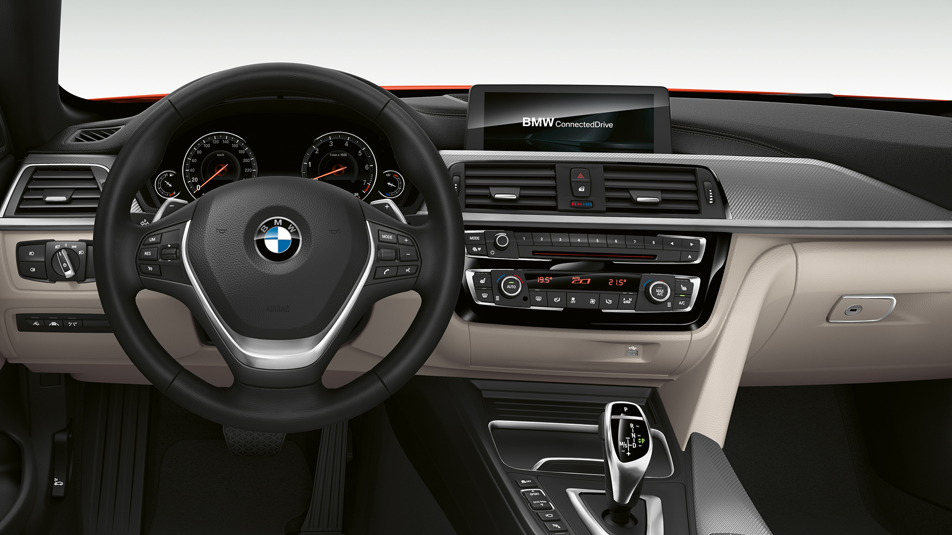 BMW serii 4 Cabrio, model Luxury Line, kokpit