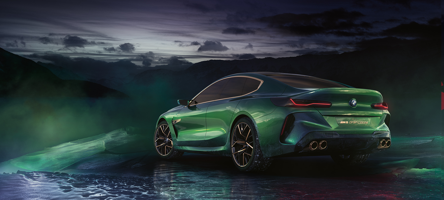 bmw concept vehicle